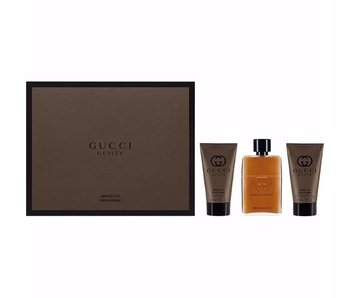 Gucci Guilty Absolute Pour Homme Gift Set 50 ml, 50 ml and 50 ml