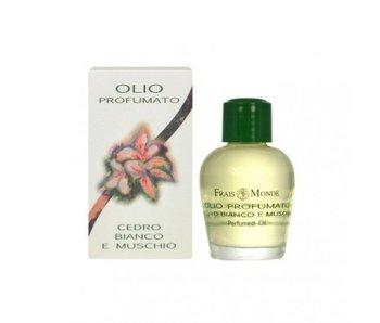 Frais Monde White Cedar and Musk Perfumed oil