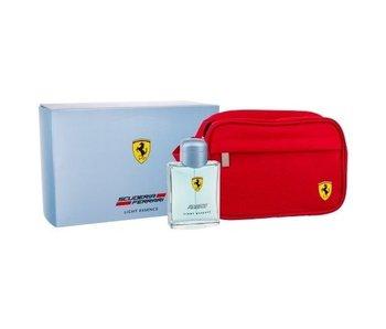 Ferrari Light Essence Gift Set 125 ml and Cosmetic Bag