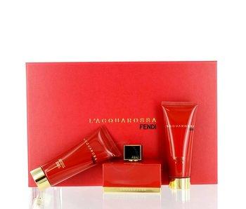 Fendi L´Acquarossa Gift Set 75 ml, L´Acquarossa 75 ml and L´Acquarossa 75 ml
