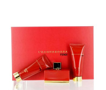Fendi L´Acquarossa Gift Set 75 ml, L´Acquarossa 75 ml and L´Acquarossa 75 ml