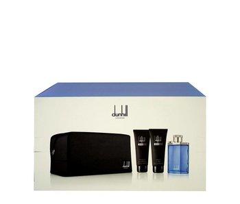 Dunhill Desire Blue Gift Set 100 ml, Desire for a Men 90 ml, aftershave balm Desire for a Men 90 ml and cosmetic bag