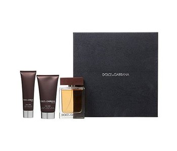Dolce & Gabbana The One for Men Great Gift Set 100 ml Balm The One for Men 75 ml and The One for Men 50 ml