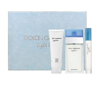 Dolce & Gabbana Light Blue Gift Set 100 ml, Light Blue 100 ml, ands Light Blue 7.4 ml