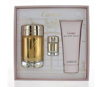 Cartier Baiser Vole Gift Set 100 ml 100 ml Baiser Vole ands Baiser Vole 6 ml