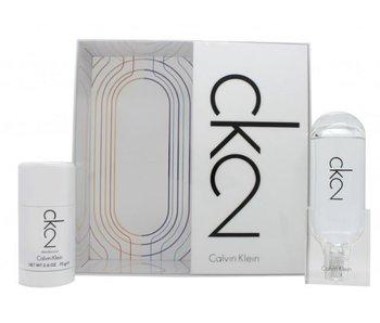 Calvin Klein CK2 Gift Set 100 ml and CK2 75 ml
