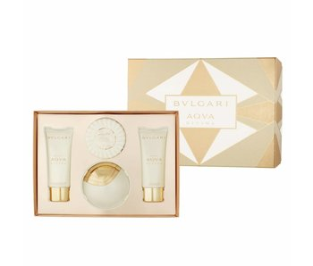 Bvlgari Omnia Crystalline Gift Set 65 ml Omnia Crystalline 75 ml, bar soap Omnia Crystalline 75 ga cosmetic bag
