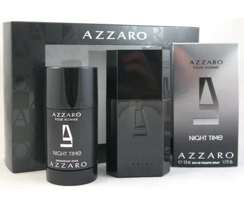 Azzaro Pour Homme Night Time Gift Set 50 ml and Pour Homme Night Time 75 ml