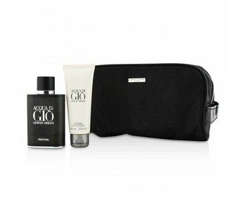 Armani Acqua di Gio Man Profumo Gift Set 75 ml, Acqua di Gio Man 75 ml and cosmetic bag