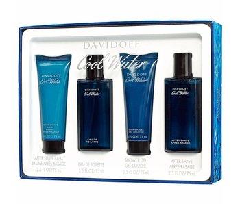 Davidoff SET Cool Water Men EDT 125ml + AFTERSHAVE 75ml + ASB 75ML + SHOWER GEL 75ML
