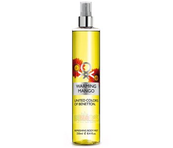 Benetton Warming Mango Refreshing Body Mist