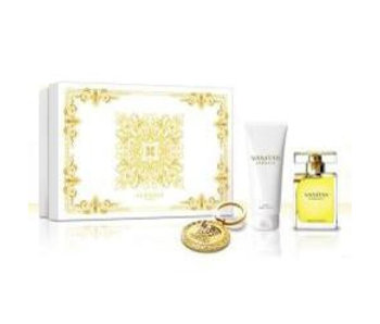 Versace Vanitas Gift Set 100 ml, body lotion Vanitas 100 ml and keyring
