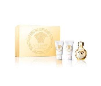 Versace Eros Pour Femme Mini Set 5 ml, Shower Gel Eros Pour Femme 25 ml and Body Lotion Eros Pour Femme 25 ml