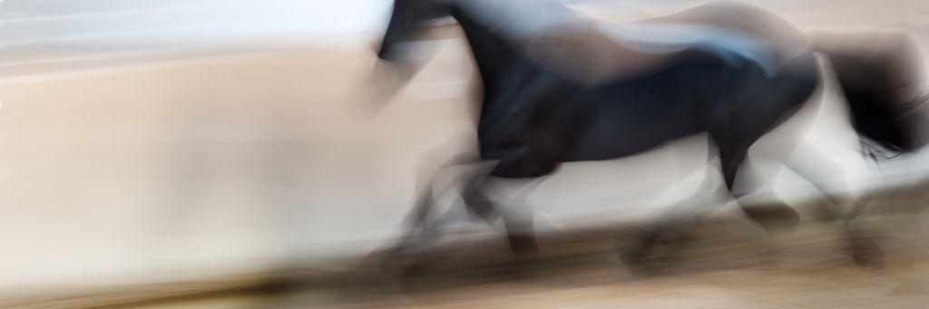 """Akustikbild mit Motiv """"Run 105"""" - Panorama-Format"""