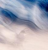 """Akustikbild mit Motiv """"Blue take-off"""" - Panorama-Format"""