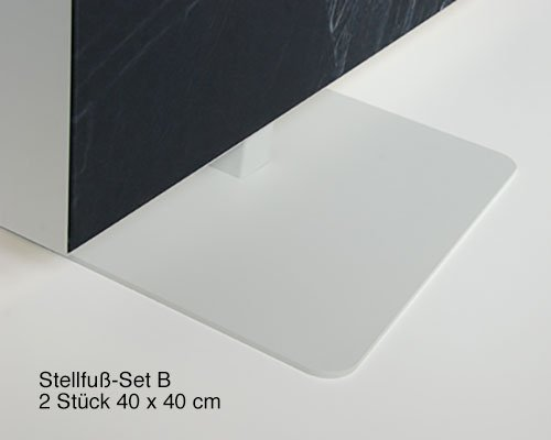 Mobiler Akustik Raumteiler, Design Lines