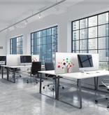 Akustik Tisch-Trennwände Corporate Design