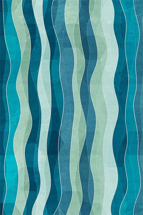 """Akustikbild """"Kelp"""" - Farben anpassbar"""