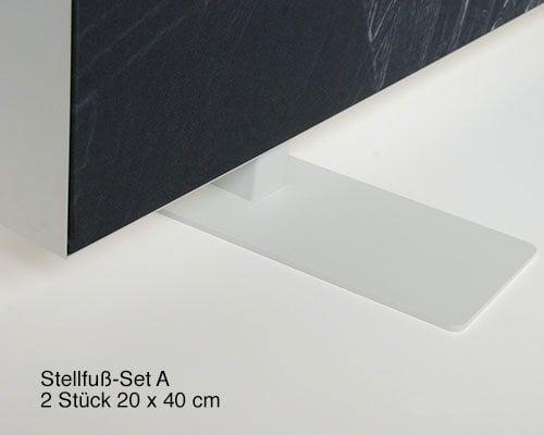 Akustik Raumteiler 140 cm breit, alle Farben