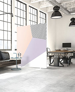 freiraum Akustik Raumteiler Design
