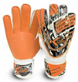 Keeperhandschoenen Jeugd Zwart/Oranje (Maat 1 t/m 6)