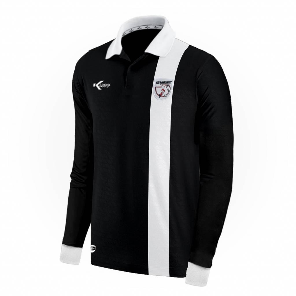 Keeper shirt Barendrecht slim fit, Zwart