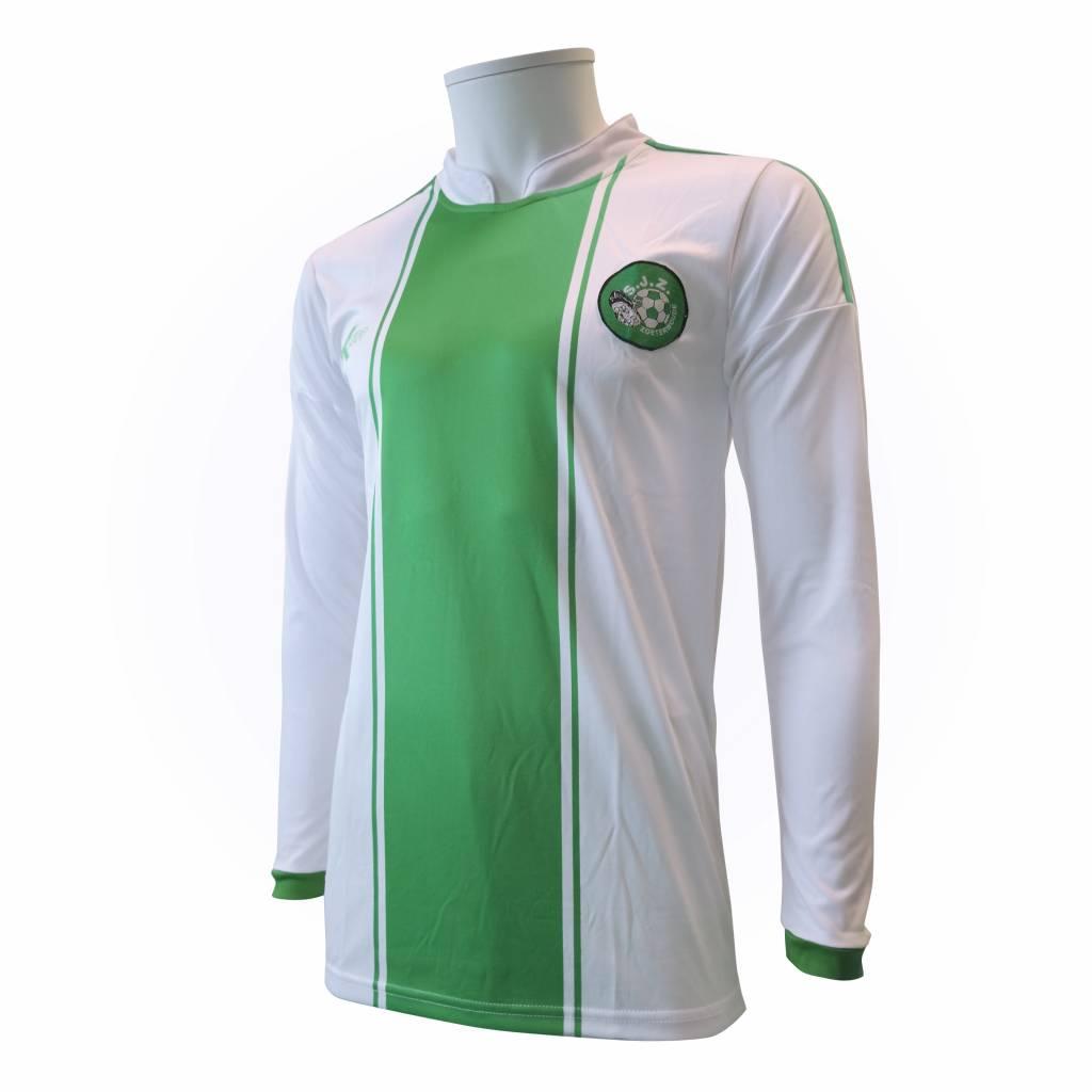 Thuis shirt SJZ, Wit/Groen