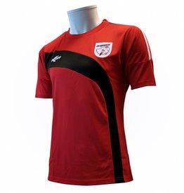Training shirt Barendrecht, Rood/Zwart