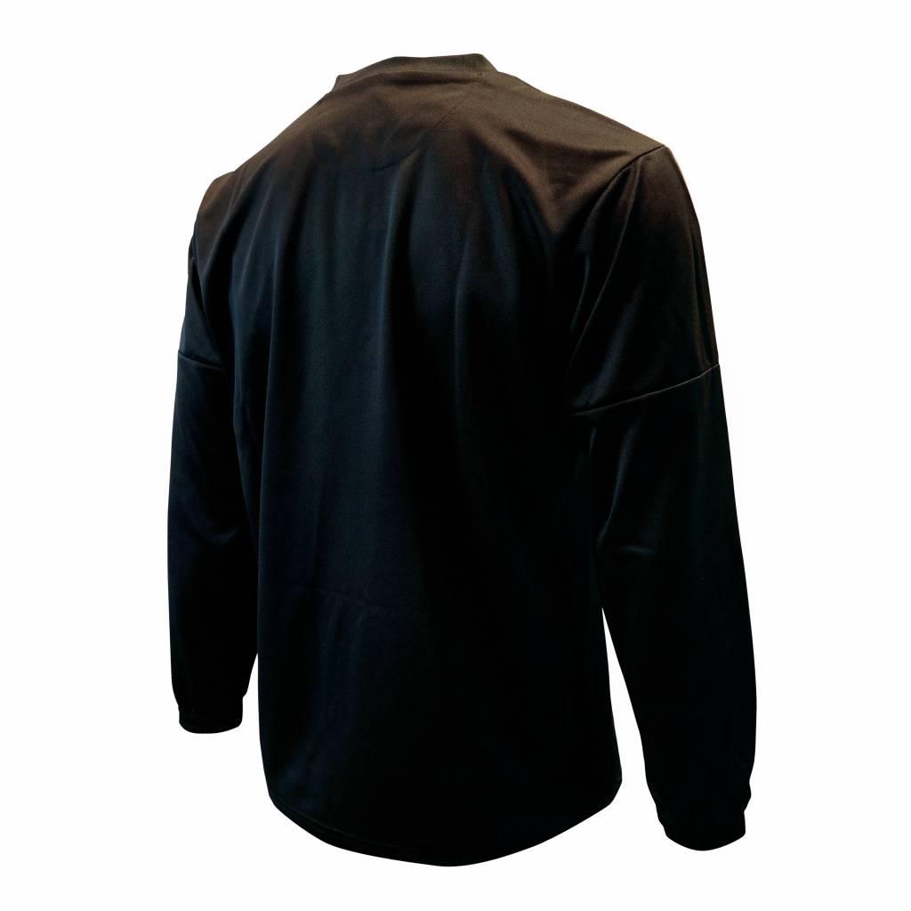 Training trui Barendrecht, Zwart/Rood