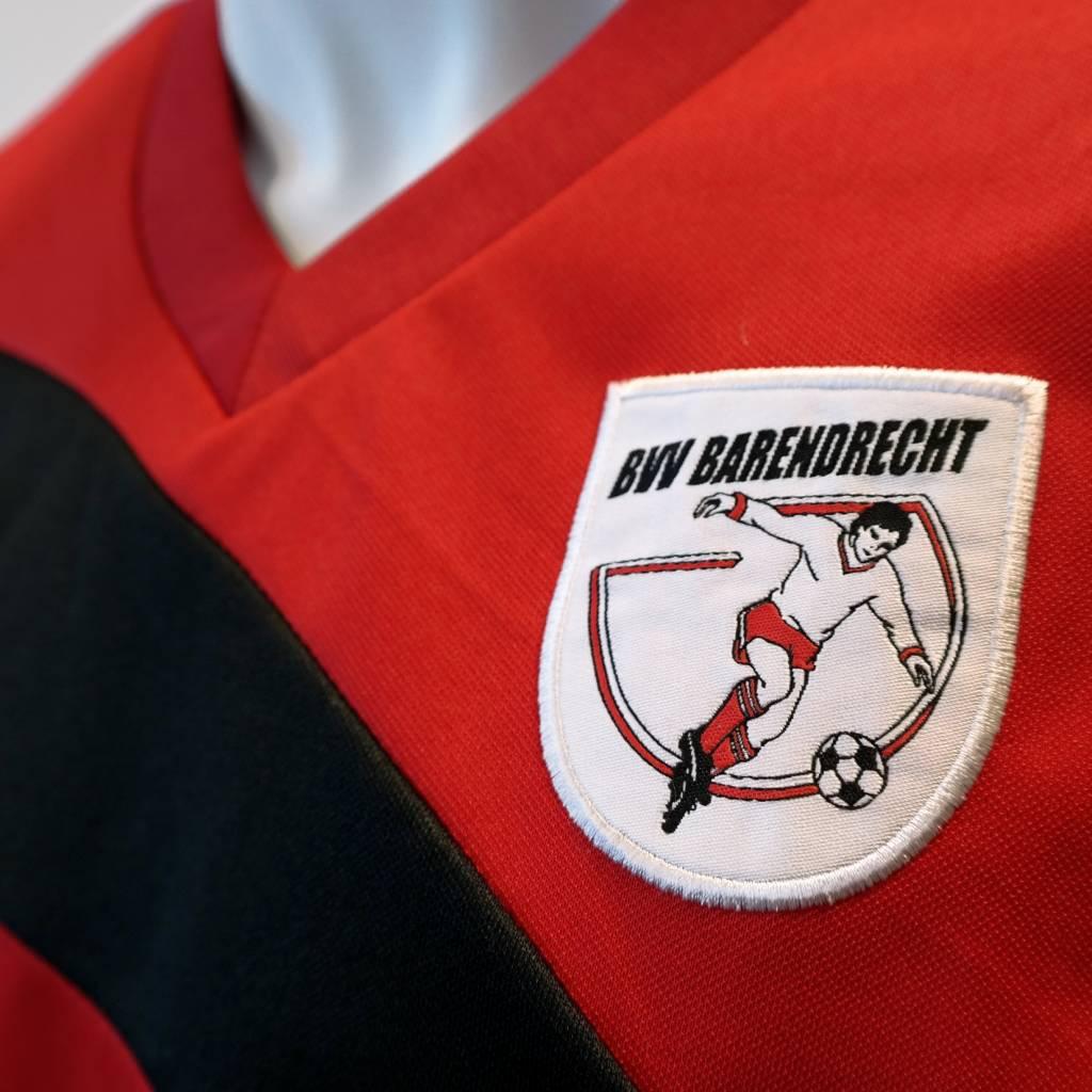 Training trui Barendrecht, Rood/Zwart