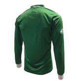 Shirt uit XerxesDZB, lange mouw, groen/wit