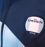 Presentatie jack vv Dieren, Navy/Sky