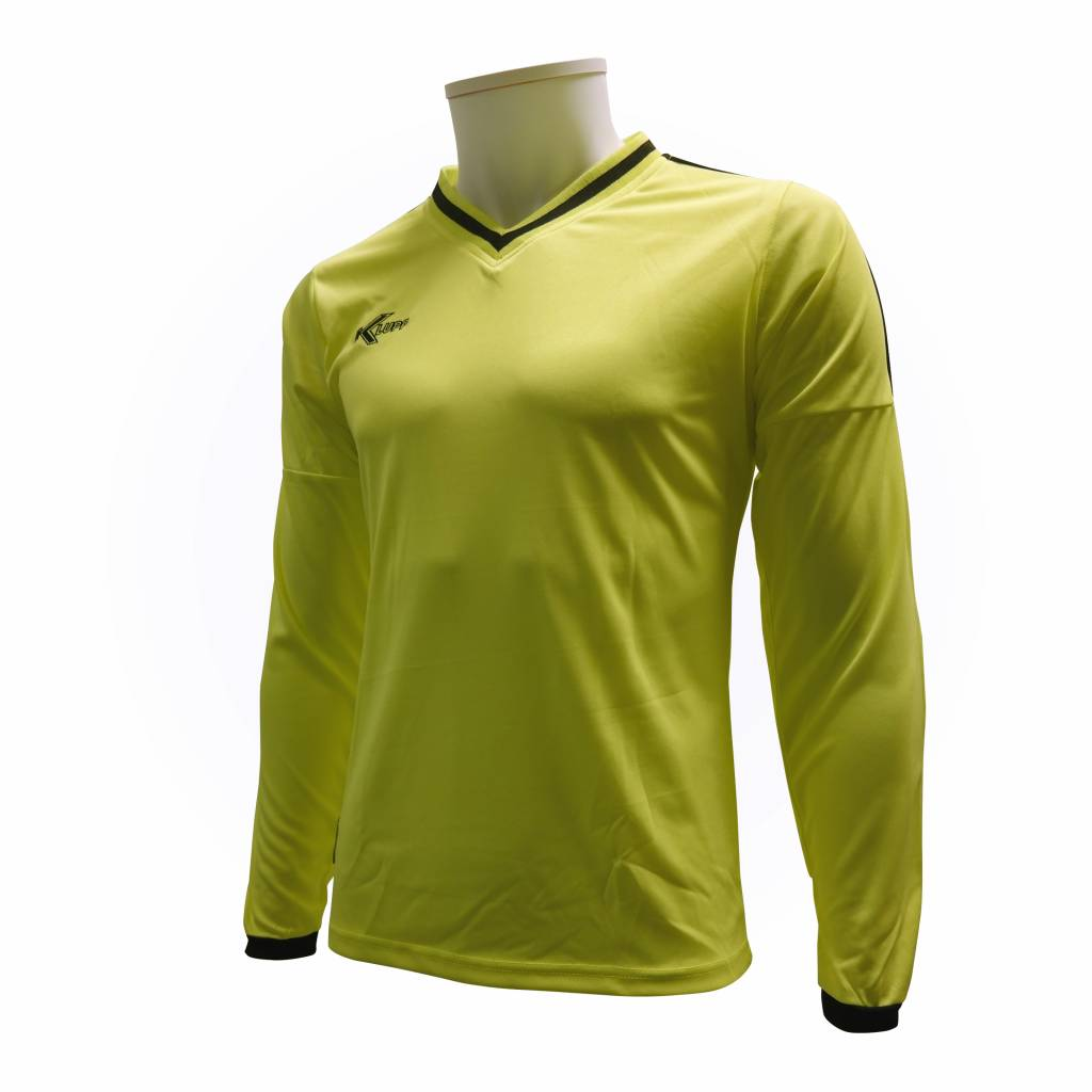 Keeper shirt Neon, Geel