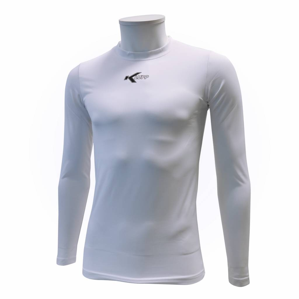 Thermo shirt lange mouw, Wit