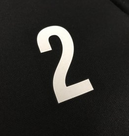 Initialen / klein nummer (5cm hoog)