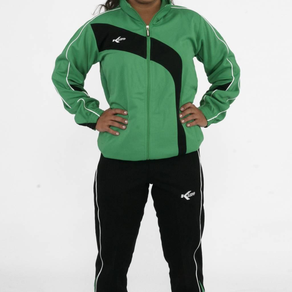 Trainingspak, Groen/Zwart