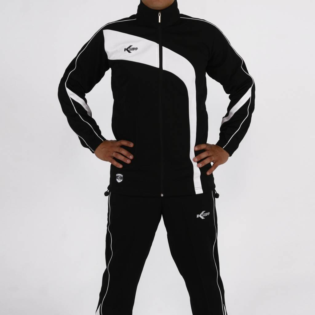 Trainingspak Champion, Zwart/Wit