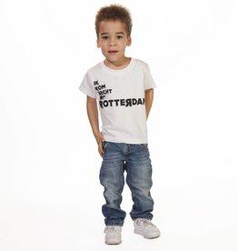 RUR T-Shirt Kids WIT, Recht Uit Rotterdam