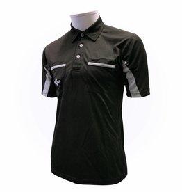 Scheidsrechter Shirt Zwart/Grijs