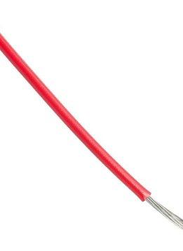 Alpha Wire 1m AWG18 Schaltdraht Rot