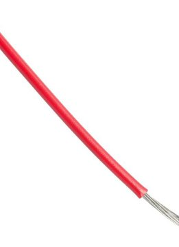 Alpha Wire 1m AWG18 Wire Red