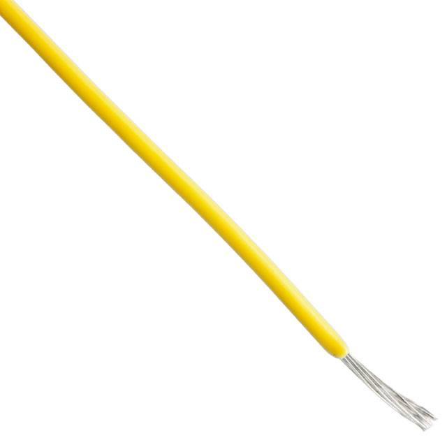 Alpha Wire 1m AWG18 Schaltdraht Gelb