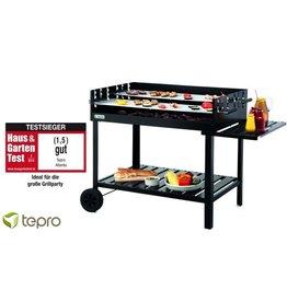 Tepro Atlanta Houtskool Barbecue Grillwagen
