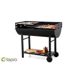 Tepro Dallas Charcoal BBQ trailer