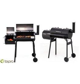 Tepro Wichita Afsluitbare Houtskool Barbecue / Smoker