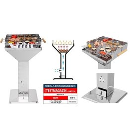Tepro Vista Kolom Barbecue RVS