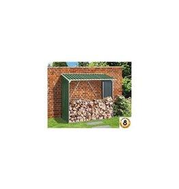 Duramax 7147 Firewood Storage Galvanized Steel Green