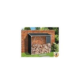 Duramax 7157 Firewood Storage Galvanized Steel Anthracite