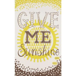 Marry Fellows - Pintuck Tea towel Give me sunshine