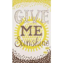Marry Fellows - Pintuck Tea towel Give me sunshine
